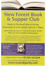 New Forest Book and Summer club