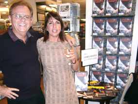James Raven signed copies of RANDOM TARGETS at Waterstones in Southampton